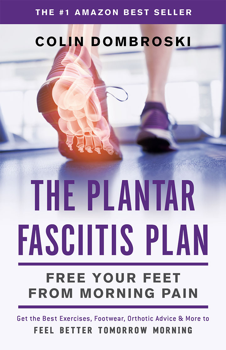 The Plantar Fasciitis Plan Book cover