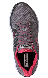 Pink performance orthopedic running shoe by SoleScience in London ON